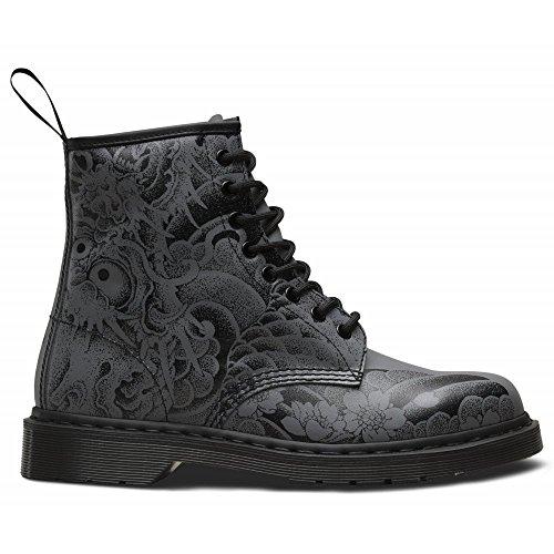 1460 Boots Eyelet Womens Dr Martens Leather Black 8 OT 0BqwXwE