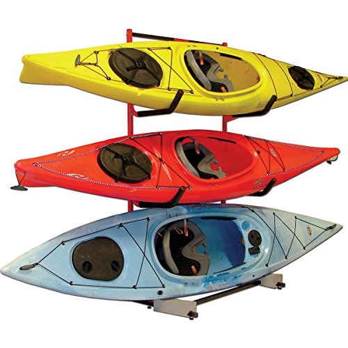 Malone Auto Racks FS 3 Kayak Storage Rack System