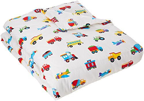 planes trains and trucks bedding - 6