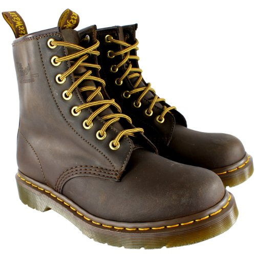 Dr. Marten's Union Jack 8-Eye, Men's Boots Brown