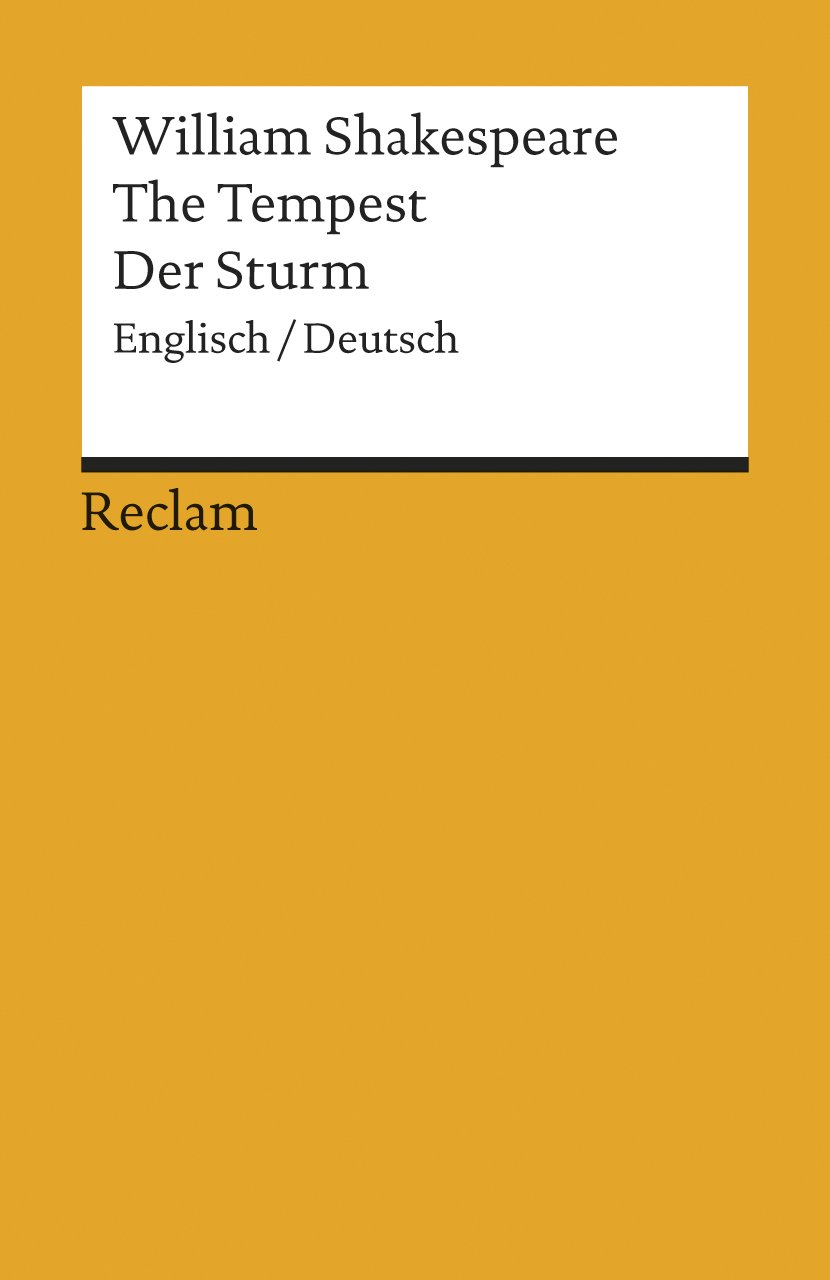 The Tempest / Der Sturm: Englisch / Deutsch
