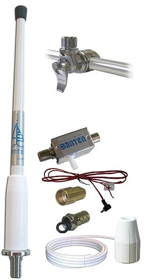 BANTEN C-00331 Antena de látigo para recepción TDT DVB-T de 25cm,