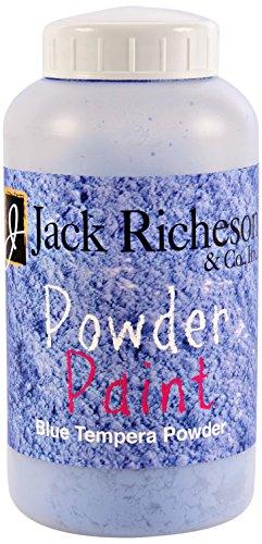 (Jack Richeson Tempera Powdered Paint, Blue, 1 Pound)