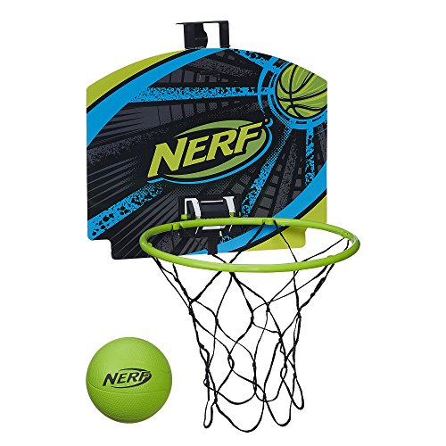 Nerf N-Sports Nerfoop Set, Green/Grey (Nerf Basketball Hoops)