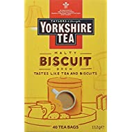 Yorkshire Tea Biscuit Brew 40 Tea Bags 100G (Yorkshire Tea Biscuit Brew 40 Tea Bags 100G)
