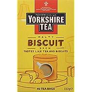 Yorkshire Tea Biscuit Brew 40 Tea Bags 100G (Yorkshire Tea Biscuit Brew 40 Tea Bags 100G)