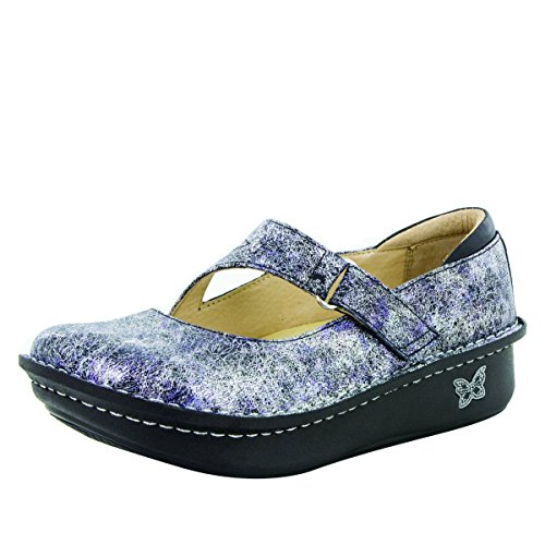 Alegria womens Dayna Slip On Ice Ice baby 40 M EU by Alegria