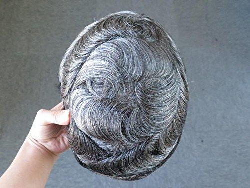 [Real man wigs hair block strong and durable hand-made men's hair make hair blocks] (Companies Make Dance Costumes)