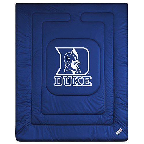 NCAA Duke Blue Devils Locker Room Comforter Queen