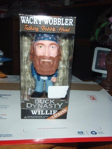 Funko Duck Dynasty Willie Wacky Wobbler Talking Bobble-Head -