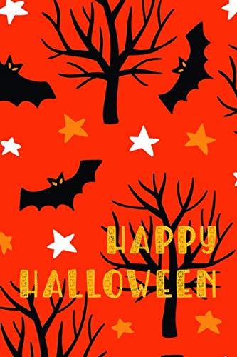 Journal Halloween Bats: Halloween Notebook Diary || 6