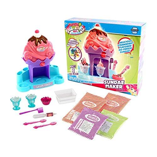 Yummy nummies mini kitchen playset sundae maker import for Mini kitchen playset