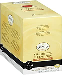 Twinings Earl Grey Decaf Tea, Keurig K-Cups, 24 Count