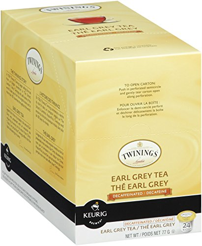 Twinings Earl Grey Decaf Tea, Keurig K-Cups, 24 Count (Earl Grey Tea K Cups compare prices)