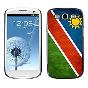 Shell-Star ( National Flag Series-Namibia ) Snap On Hard Protective Case For Samsung Galaxy S3 III / i9300 i717