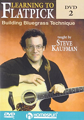 - Learning To Flatpick-Building Bluegrass Technique DVD#2