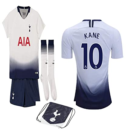 59906fd12 Tottenham English Premier League 2018 19 Replica Harry Kane Kid Jersey Kit    Shirt