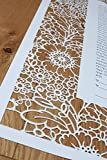 Laser Cut Ketubah - ''Lace in Bloom''