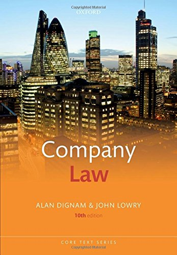 Best company law dignam for 2020