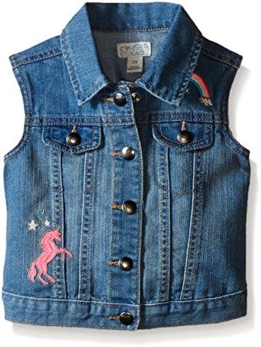 0e2271140 The Children s Place Baby Toddler Girls  Denim Vest
