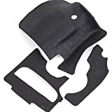 Generic 3 Pieces Body Rubber Cover Replacement Part Suit For Canon EOS 60D Camera Grip Part + Thumb Part + Body Front Left Part