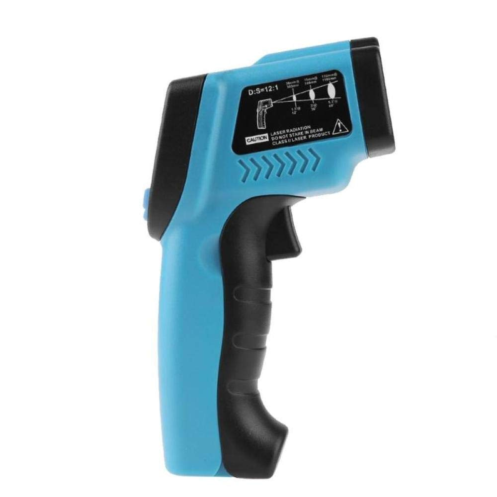 Termómetro Infrarrojo Pantalla LCD  Digital Sin Contacto (Azul)