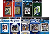 NFL Detroit Lions Licensed Trading Card Team Set