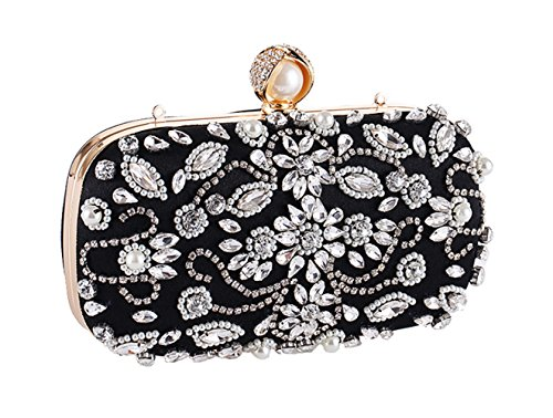 Dinner Bag Shoulder Bag Beaded Hand New Bag E Ms vz4Aqx
