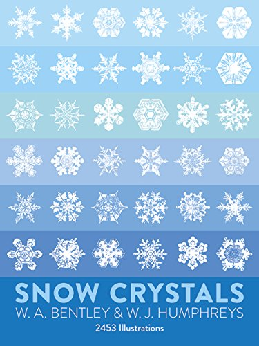 Pane Snow - Snow Crystals (Dover Pictorial Archive)