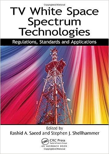 Buy TV White Space Spectrum Technologies: Regulations