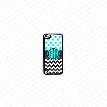 Amazon.com: krezy carcasa Monogram iPod Touch 5 Case ...