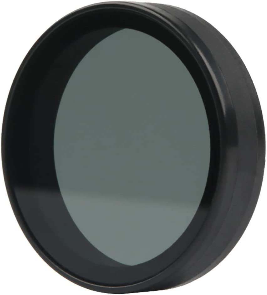for Xiaomi Mijia Small Camera 38mm ND Dimmer Lens Filter Durable Color : Black