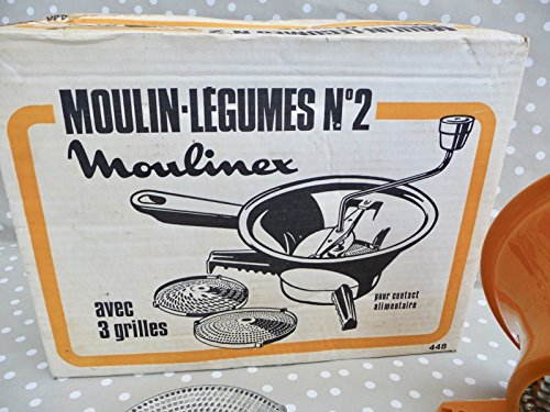 Vintage Moulinex Moulin-Legumes No. 2 Food Mill - Grinder, Shredder, Grater, Slicer
