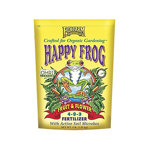 4lbs. Happy Frog Fruit and Flower Organic Plant Fertilizer - New Package for -