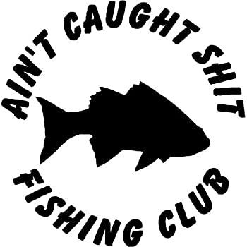 Amazoncom Funny Support Your Local Hooker Fishing Vinyl Sticker - Fishing decals for trucks