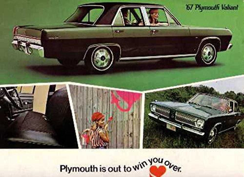 (1967 Plymouth Sales Brochure Literature Book Advertisement Options Specs)