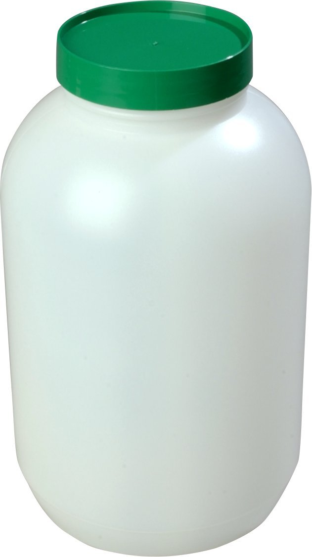 Carlisle PS80200 Stor N' Pour Gallon Back Up Assorted Color Caps, 1 Gallon Capacity, Assorted (Pack of 6)