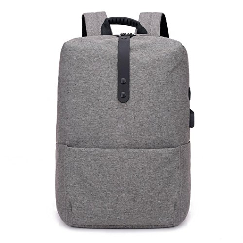 Clearance sale ! Fashion Multi-functional Anti-Theft Backpack High-capacity Laptop Bag with USB ❤️ ZYEE (Dark Gray, 29cm(L)18cm(W)42cm(H))