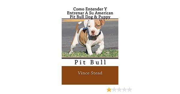 Como Entender Y Entrenar A Su American Pit Bull Dog & Puppy: Amazon.es: Vince Stead: Libros