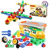 ETI Toys | STEM Learning | Original 101 Piece Educational Construction Engineering Building Blocks Set for 3, 4 and 5+ Year Old Boys & Girls | Creative Fun Kit | Best Toy Gift for Kids Ages 3yr - 6yr