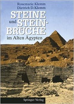 Book Steine und Steinbrüche im Alten Ägypten