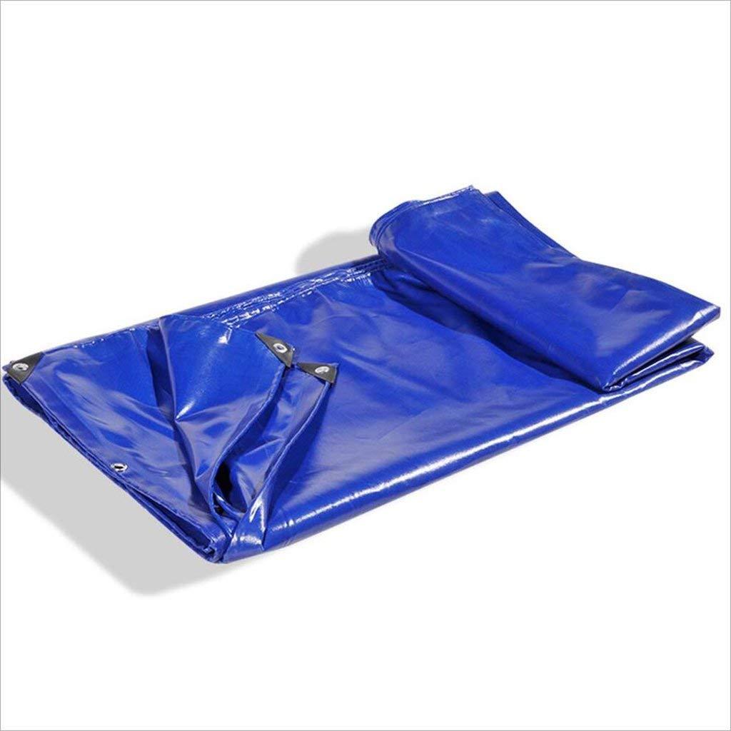 ZHULIAN Tessuto Impermeabile, Impermeabile, Antipolvere, antiusura, antiusura, antiusura, Cerata Solare, Bordi avvolgenti (Coloree   Blu, Taglia   4m x 3m) | Online Store  | Qualità e quantità garantite  e00260