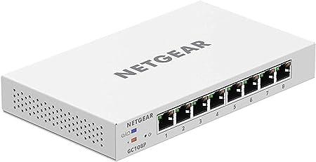 Netgear Gc108p Gigabit 8 Port Ethernet Lan Switch Computer Zubehör