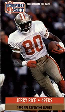 1991 pro set football card 11 jerry rice near mint mint collectibles fine art. Black Bedroom Furniture Sets. Home Design Ideas