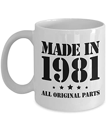 Amazon Com 37th Birthday Gifts For Him Made In 1981 Happy 37