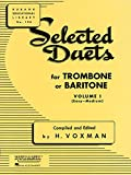 #3: Selected Duets for Trombone or Baritone: Volume 1 - Easy to Medium (Rubank Educational Library)