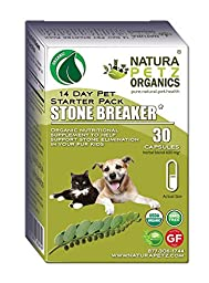 Natura Petz Organics  Stone Breaker Starter Pack for Dogs and Cats