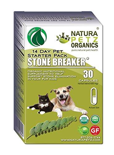 Natura Petz Organics  Stone Breaker Starter Pack for Dogs and Cats by Natura Petz Organics