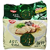 Nissin - Raoh, Japanese Instant Ramen Noodles, Pork Bone Soup, 14.8oz (for 5 Servings)[Japan Import]