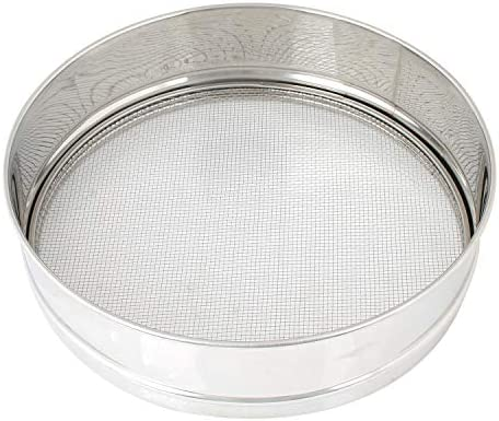 Buy Sanman Stainless Steel Folding Chalni with 4 Screens Net, Jaali Channi Atta Strainer Online at Low Prices in India - Amazon.in